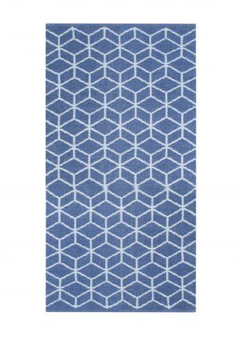 Grid Plastmatta Blå